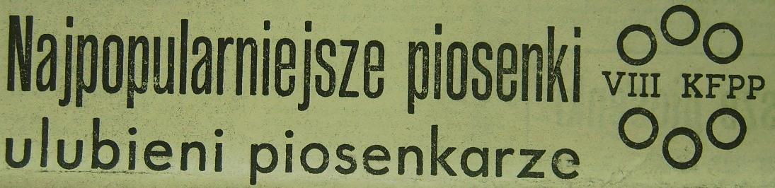 VIII KFPP w Opolu (1970)