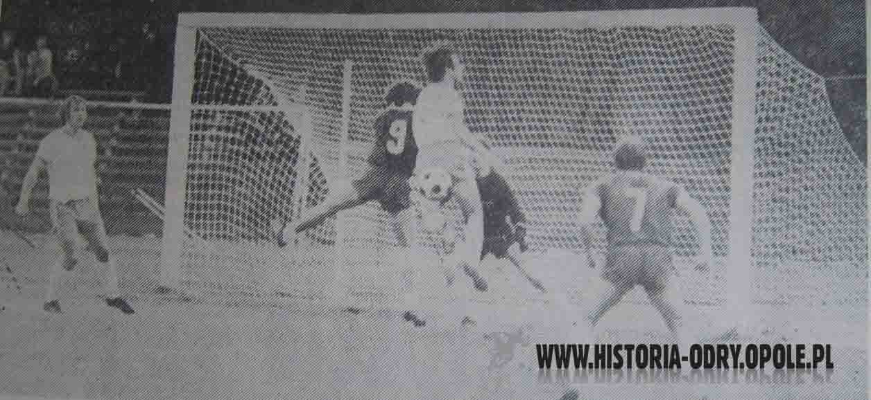 Odra - RotWeiss w Pucharze Intertoto (1972)