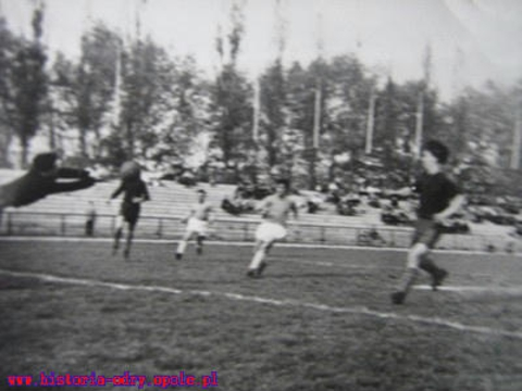 15 sierpnia 1952 roku Odra Opole pokonała Górnika Wałbrzych 3:2!