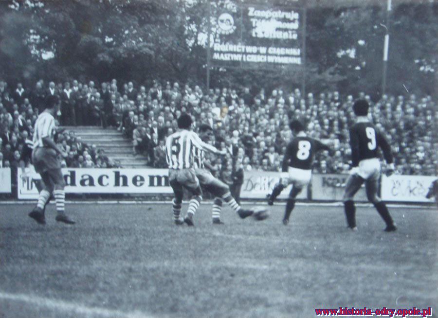 Odra Opole w I lidze - 1960 rok