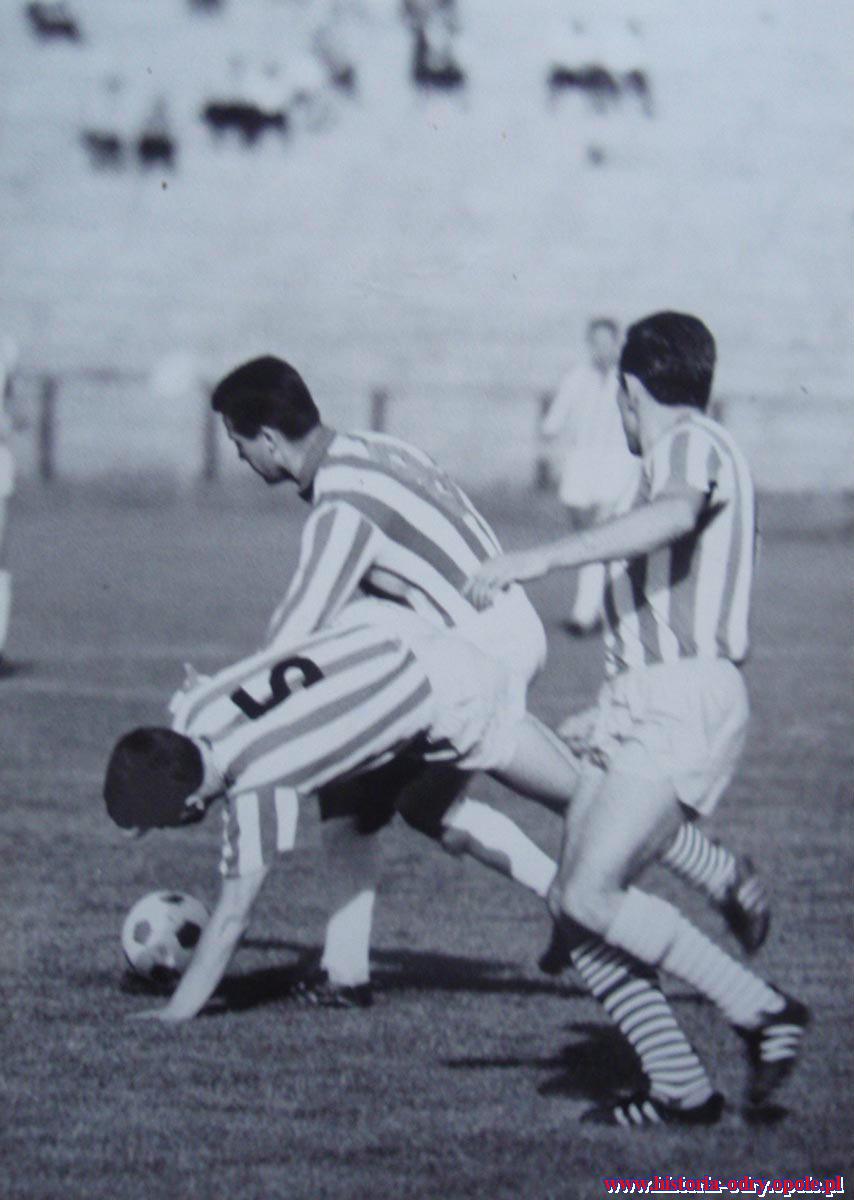 Odra Opole w I lidze (1962/63)