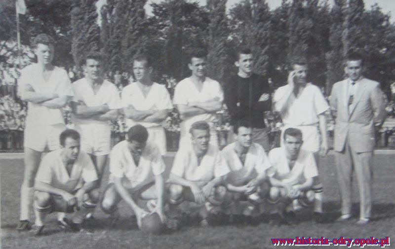 Odra Opole w I lidze - 1962/63