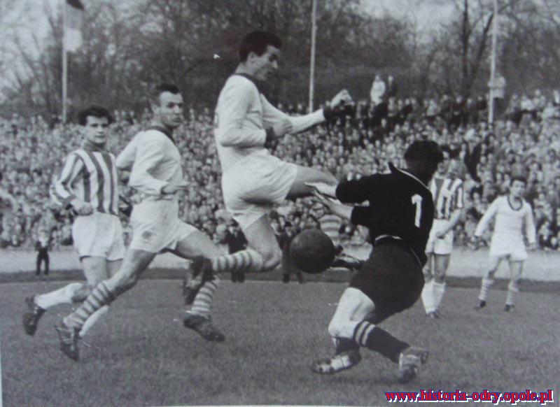 Odra Opole w I lidze - 1961 rok