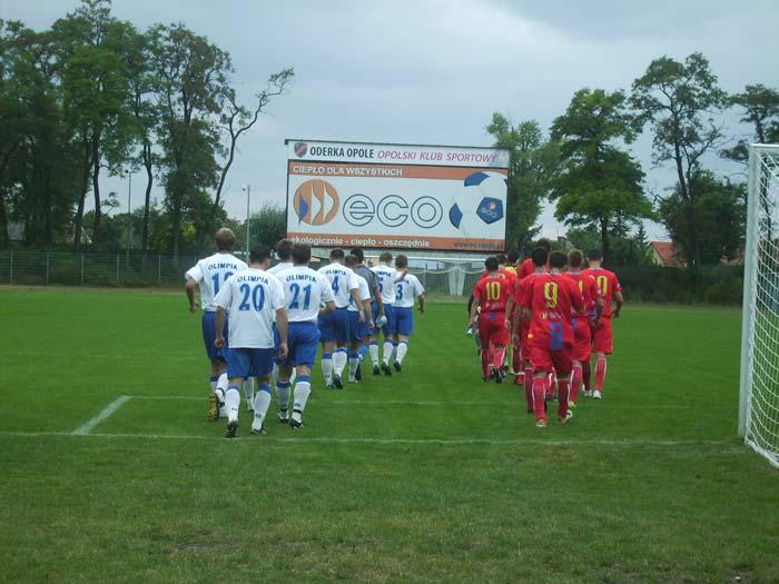 Oderka Opole - Olimpia Lewin Brzeski 3:0 - skrót filmowy z meczu