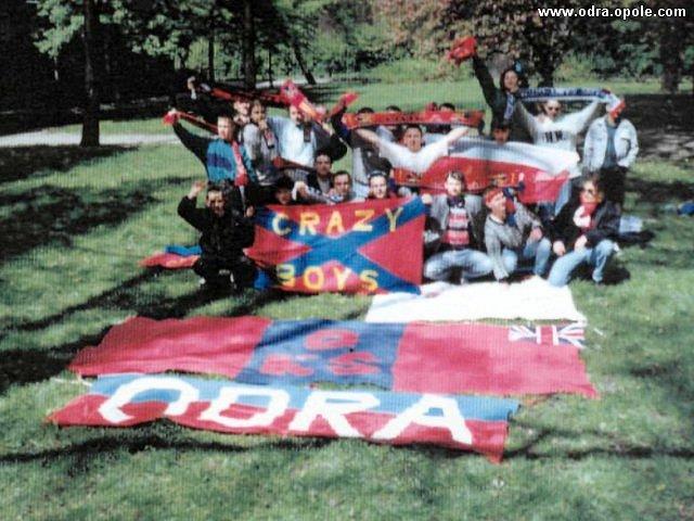 Kibice Odry w Radzionkowie 1994