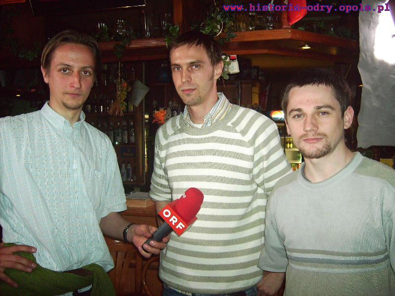 Pierwszy wywiady dla telewizji austriackiej ORF [2009]