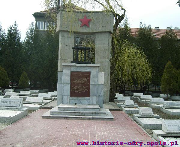 Pomnik poświęcony poległym żołnierzom w walce o wyzwolenie Opola