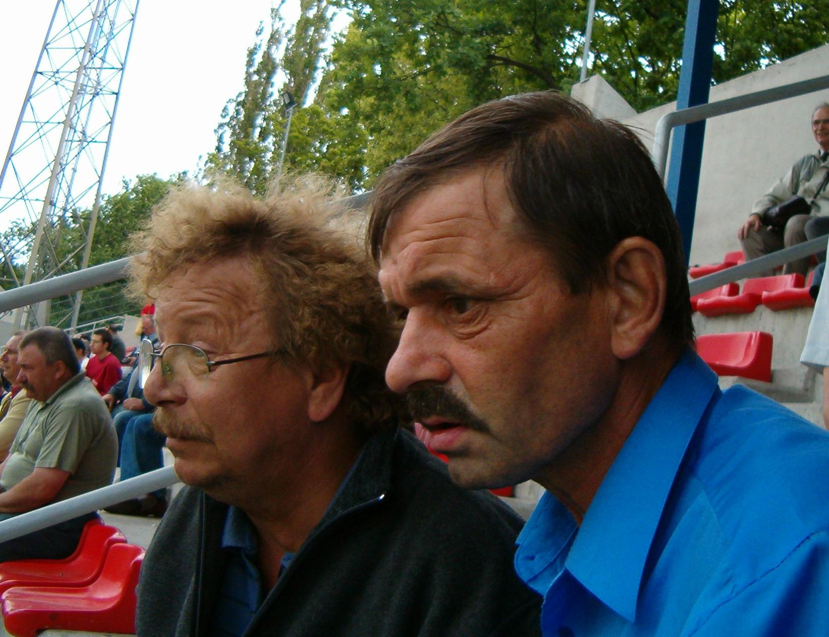 Stefan Leletko i Jerzy Tkaczyk(po prawej)