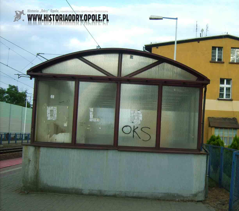 Napisy-graffiti w Lewinie Brzeskim.