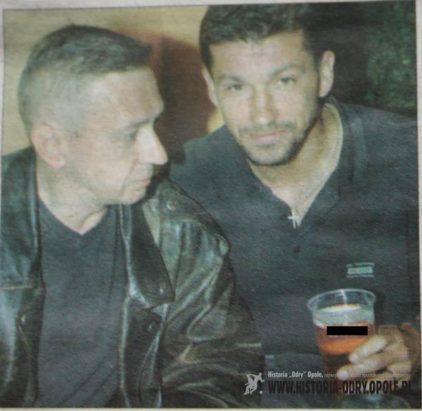Józef Żymańczy i Waldemar Milewicz