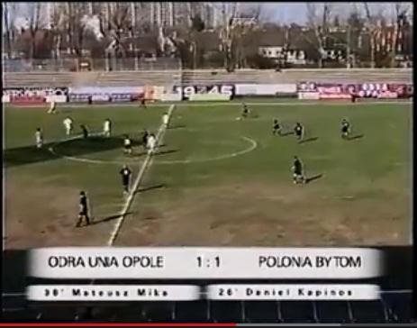 Odra/Unia Opole - Polonia Bytom 2:1 [2003]