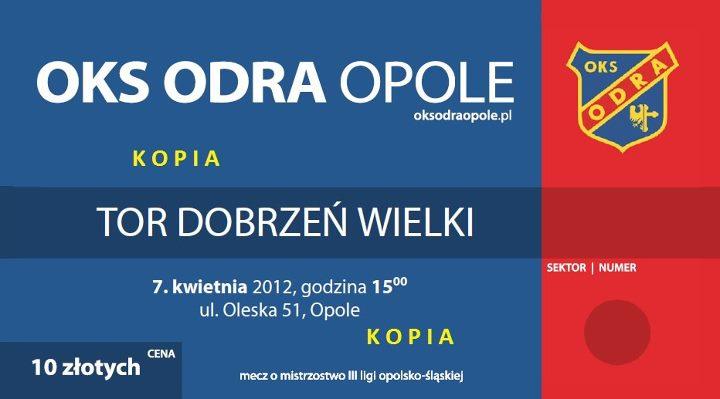 Odra Opole - Tor Dobrzeń Wielki