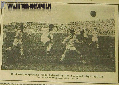 Legia - Odra Opole 2:1 (1958)