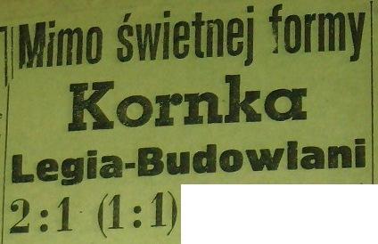 Budowlani przegrywają w Warszawie