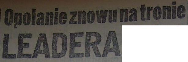 Odra-Polonia Gdańska 5:1