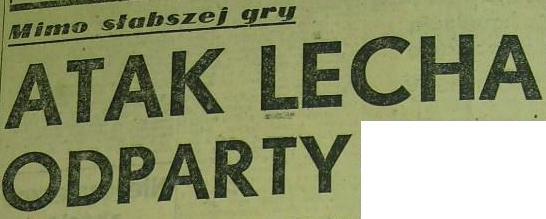 """Odra"" - ""Zawisza"" 3:0 (Sezon 1959)"