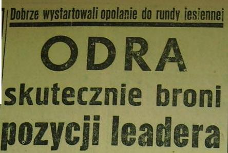 """Spotkanie """"Piast"""" Ruda Śląska - """"Odra"""" Opole (0:5, 1959)"""