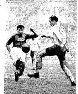Rezerwy reprezentacji ZSRR wzieły srogi rewanż na drugiej reprezentacji Polski za porażkę w Chorziwe pierwszej reprezentacji