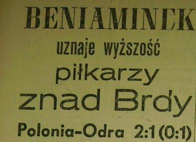 Odra przegrywa w Bydgoszczy...