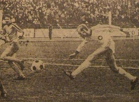 Pierwszy gol mistrza jesieni