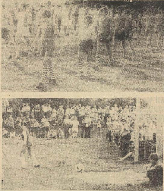 Mecz Odry na Spartakiadzie w Ujeździe