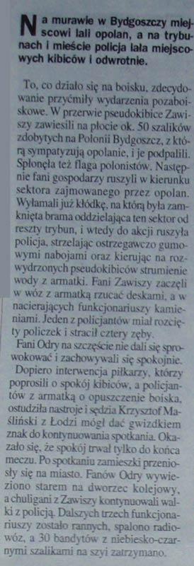 Lanie na murawie i na trybunach w Bydgoszczy!