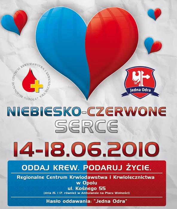 NIebiesko-Czerwone Serce