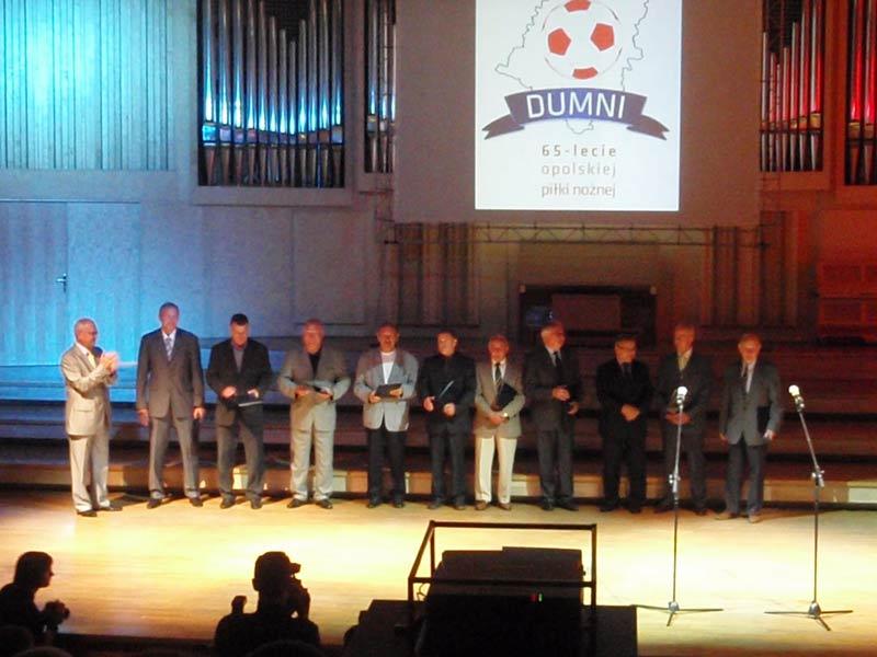 Wystąpienie Antoniego Piechniczka z okazji obchodów 65-lecia Odry Opole
