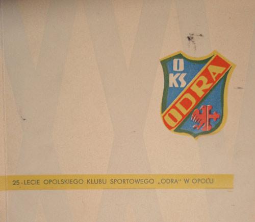 25 lat Odry Opole książka