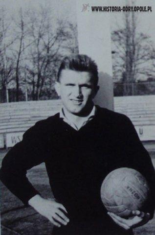 Konrad Kornek bohaterem meczu Szkocja - Polska [1965]