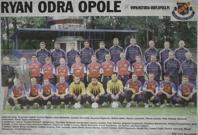 Ryan Odra Opole - zdjęcie zespołu
