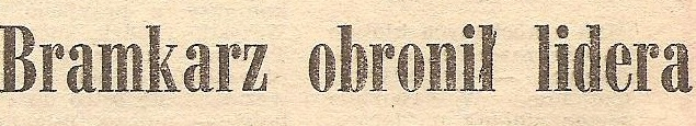 Ze spotkania MCKS - Odra (1:1, Sezon 1986/1987).