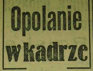 Opolanie w kadrze (1959)