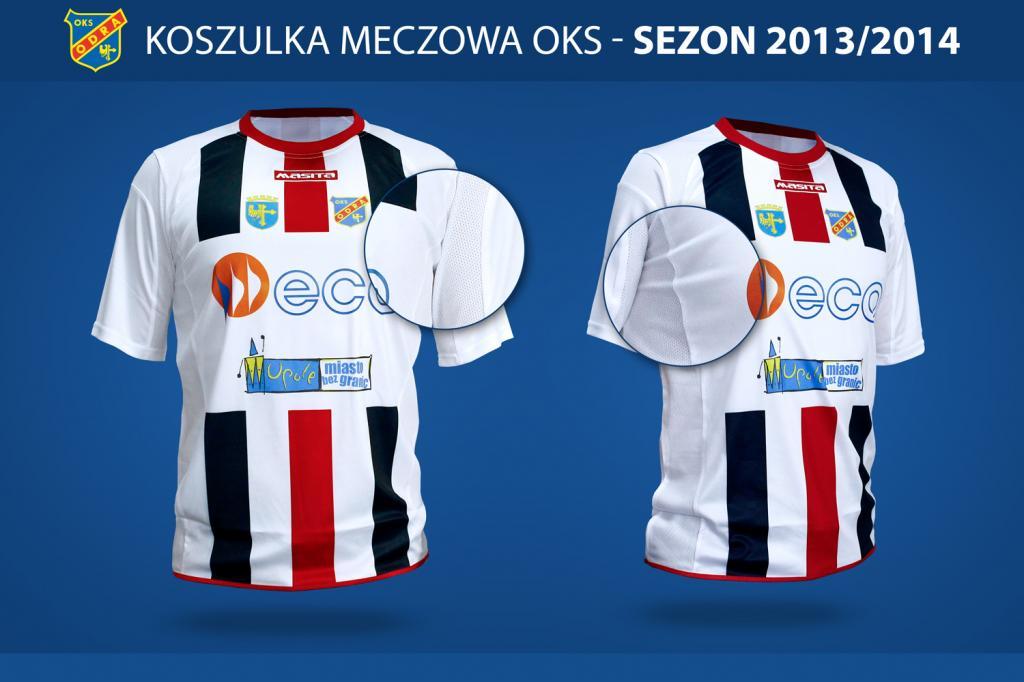 Nowe koszulki Odry Opole na Allegro