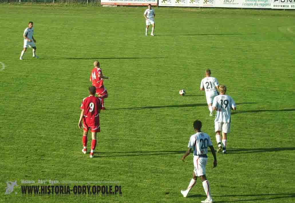 """Spotkanie """"Odra"""" Opole - """"Tur"""" Turek (2:2; 2008)"""