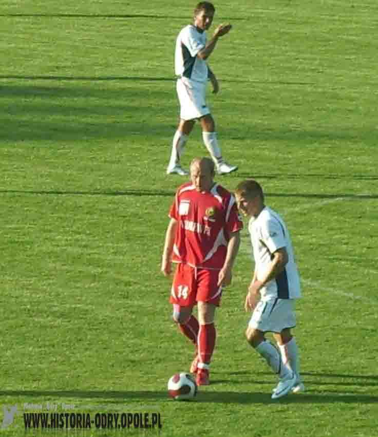 "Ze spotkania ""Odra"" Opole ""Tur"" Turek (2008)"