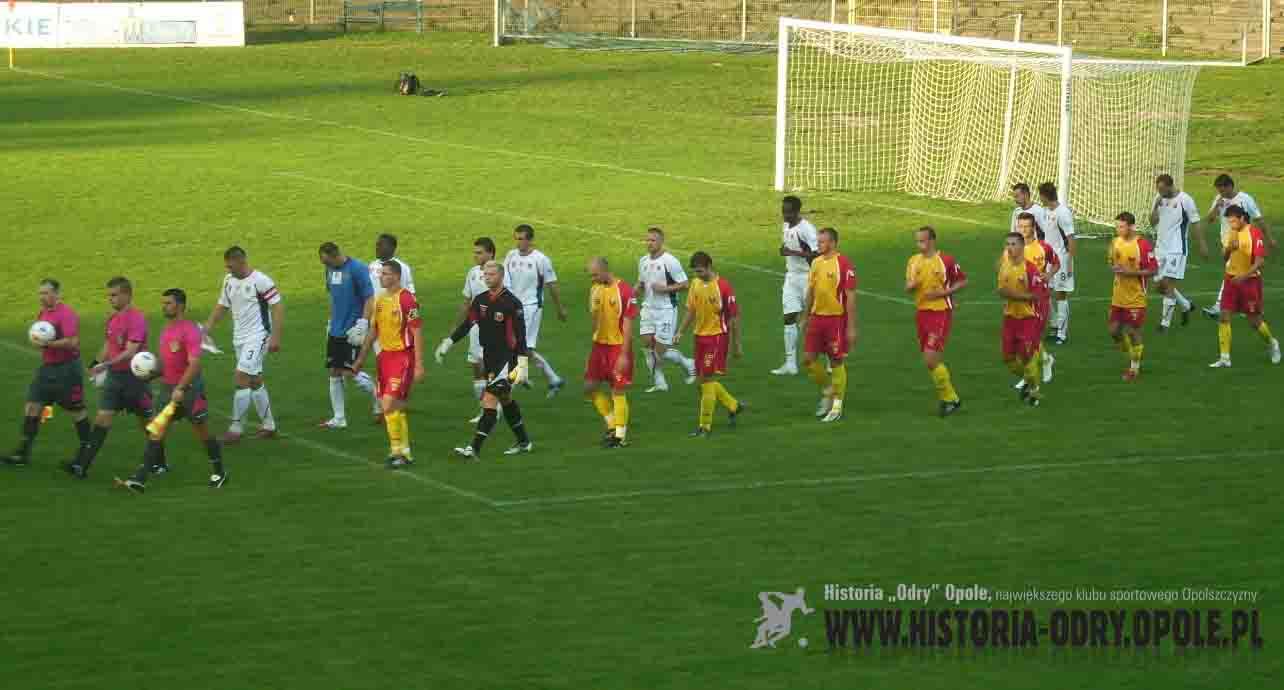 """""""Odra"""" Opole - """"Znicz"""" Pruszków (1:0; 2008)"""