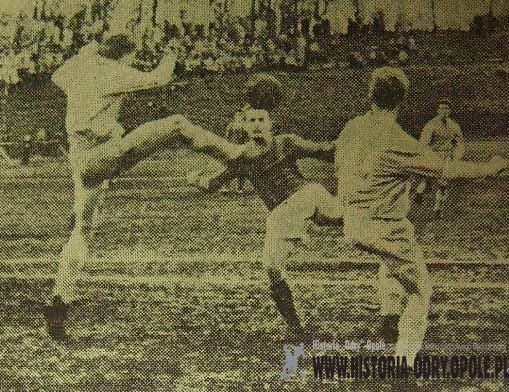 """Polonia"" Bytom - ""Budowlani"" Opole 2:0 (Sezon 1958)"