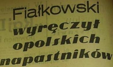 Ze spotkania Pogoń - Odra (3:3, Sezon 1962/1963).