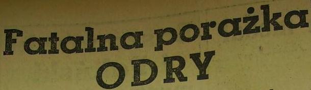 Ze spotkania Polonia Bydgoszcz - Odra Opole (Sezon 1961; 4:3).