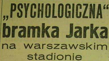 """""""Odra"""" Opole na stadionie warszawskiej """"Polonii"""" (1:4, 1959)"""