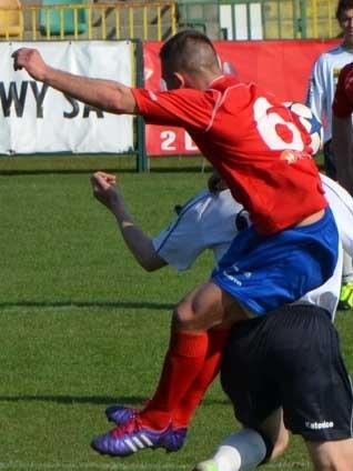 Rozwój Katowice - Odra Opole 0:1 (Sezon 2013/2014; fot. www.oksodraopole.pl).