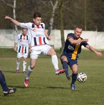 Ruch Zdzieszowice - Odra Opole 2:0 (Sezon 2013/2014; fot. M. Matkowski).