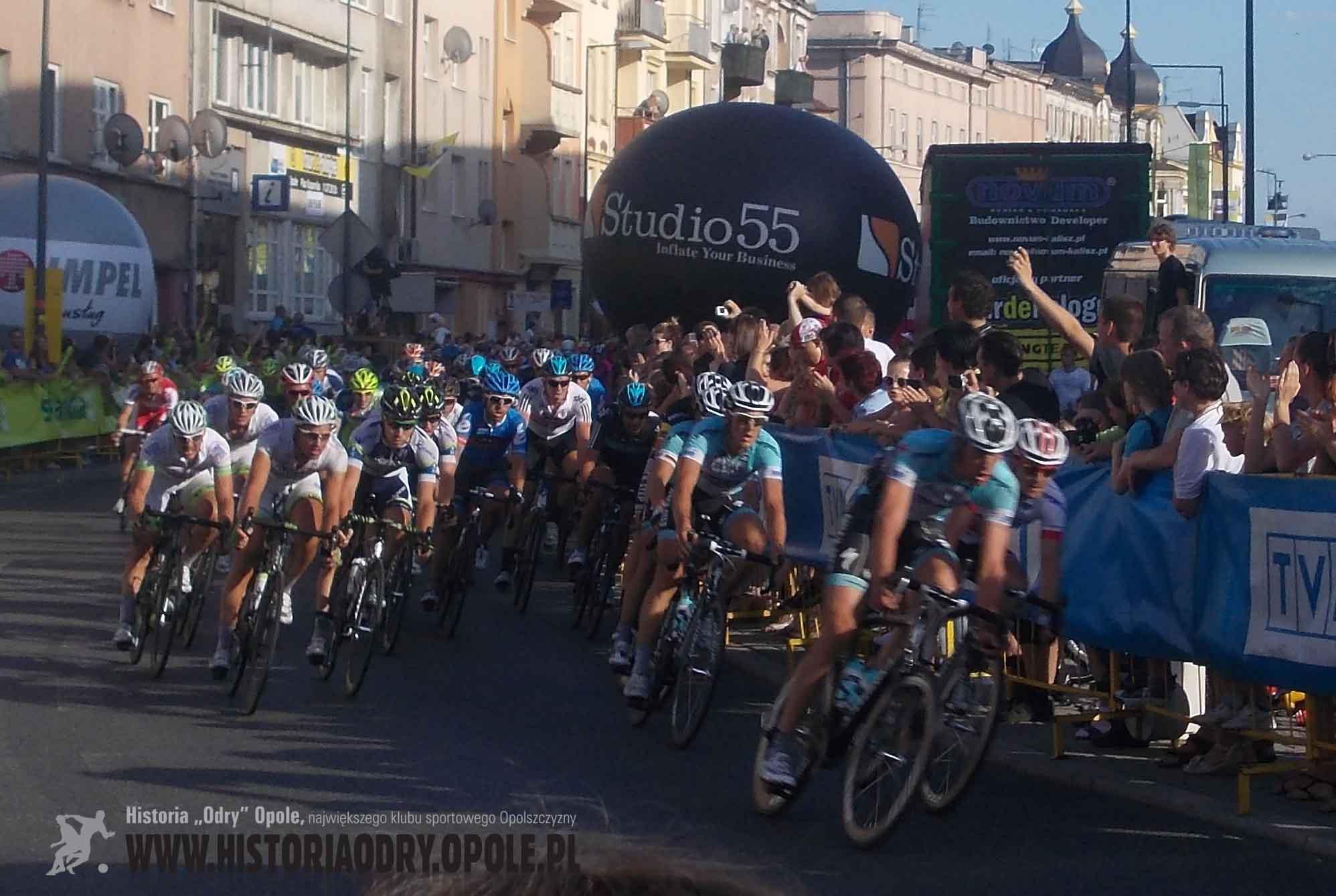 Tour de Pologne na ulicach Opola (1).