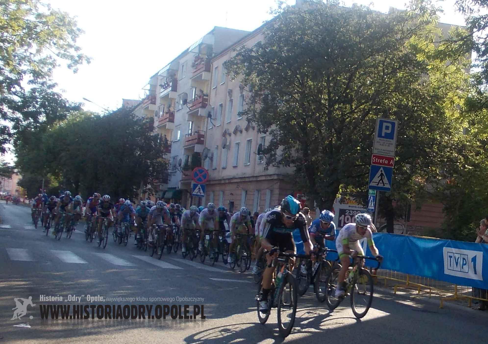 Tour de Pologne na ulicach Opola (2).