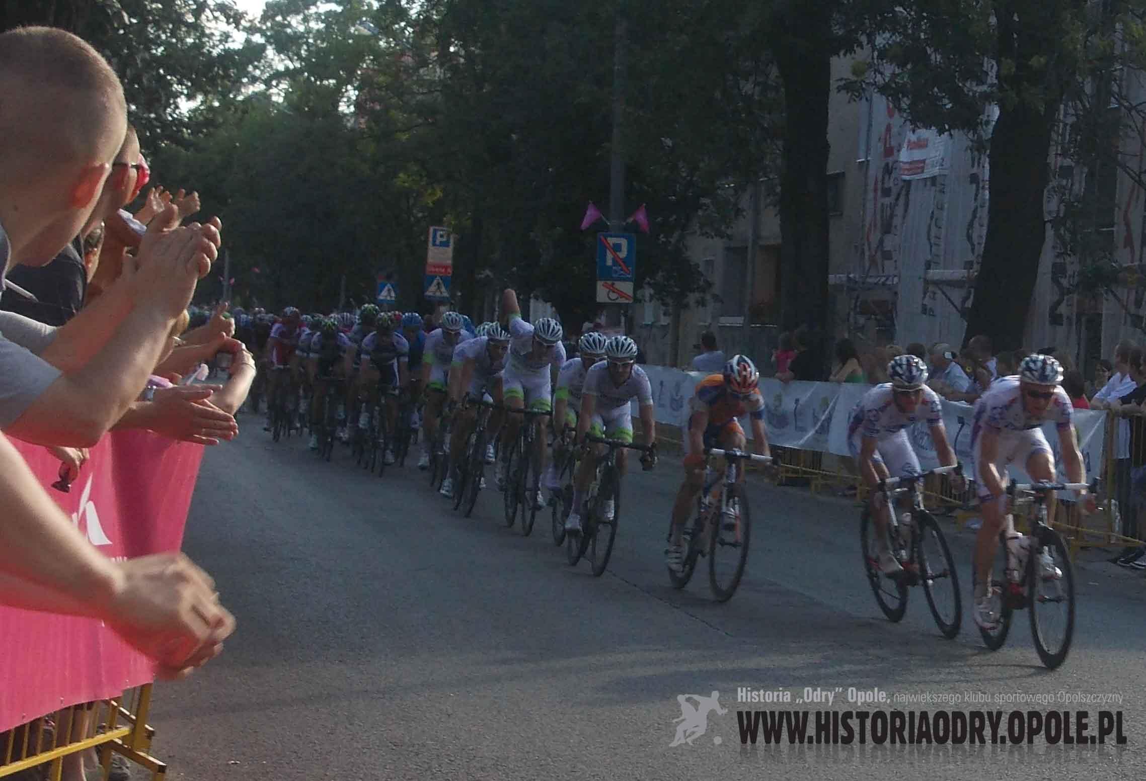 Tour de Pologne na ulicach Opola (3).