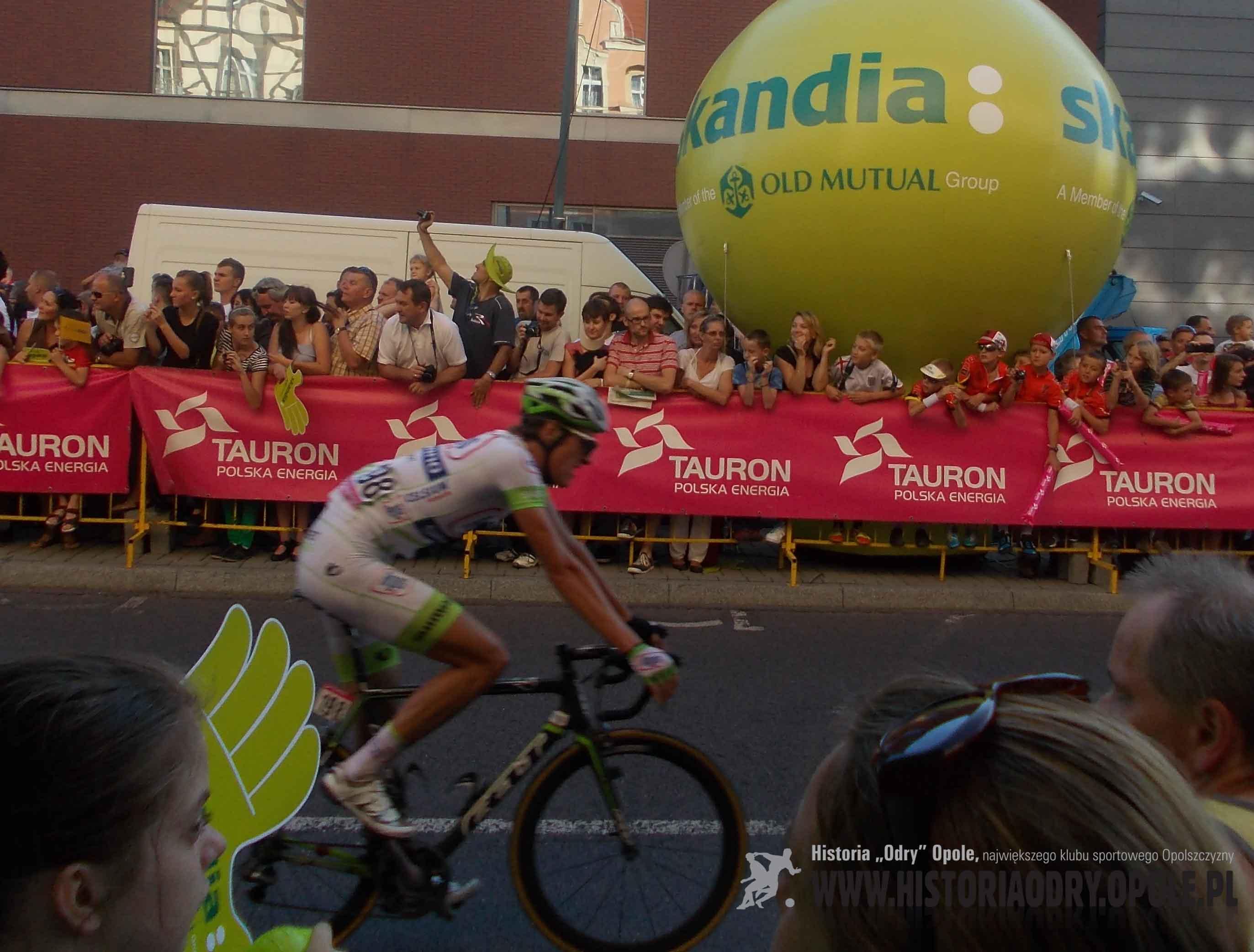 Tour de Pologne na ulicach Opola (4).