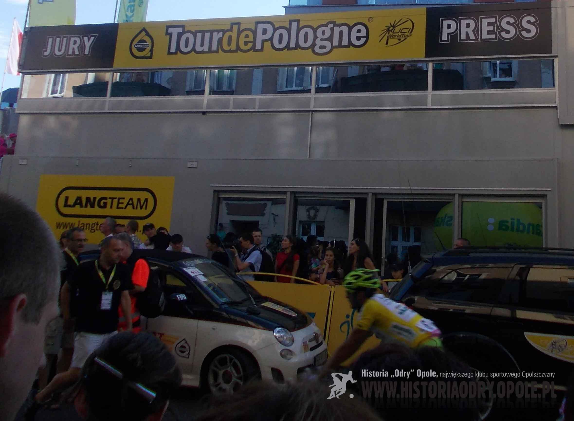 Tour de Pologne na ulicach Opola (5).
