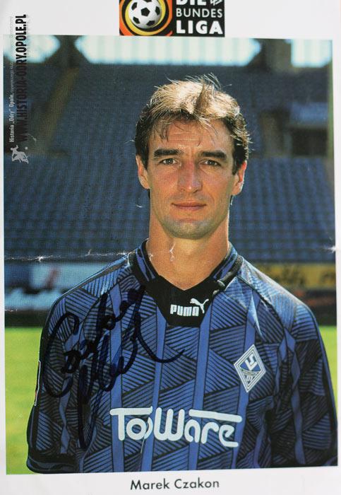 Marek Czakon jako piłkarz w Bundeslidze