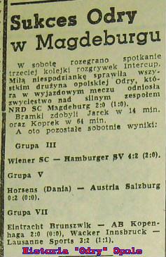 Relacja z meczu w Trybunie Opolskiej